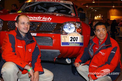Kenjiro Shinozuka and Thierry Delli-Zotti