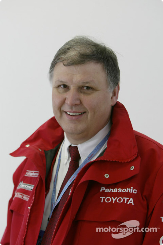 Norbert Kreyer - General Manager Race and Test Engineering