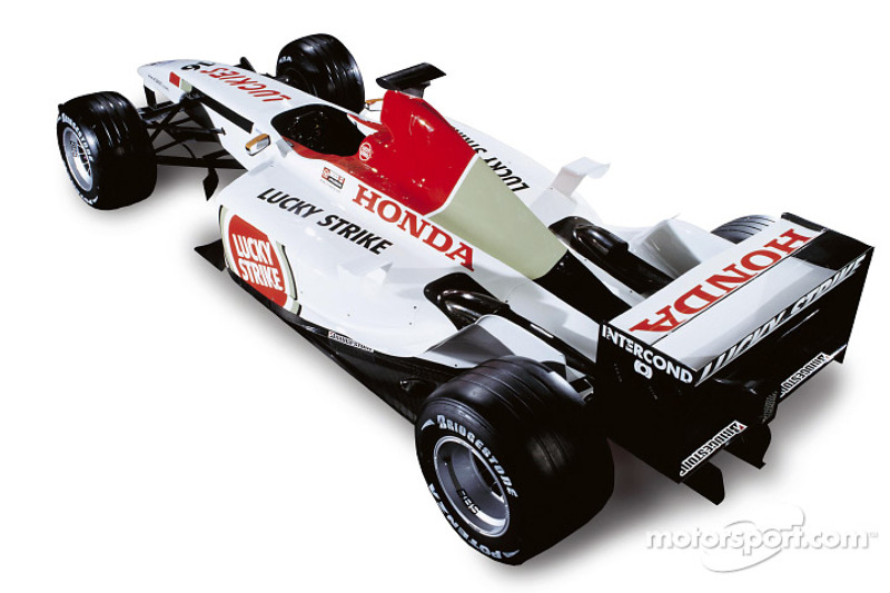 BAR Honda 005 studio shoot