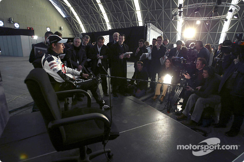 Interview for Jenson Button