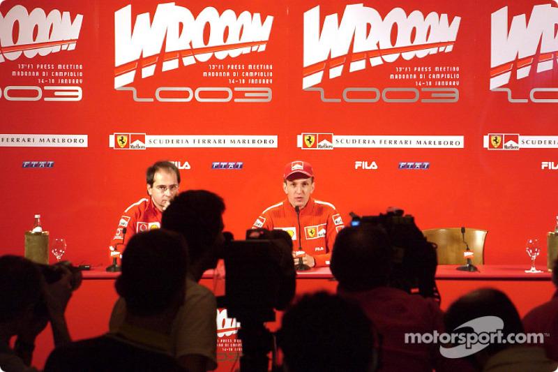 Press conference: Luciano Burti