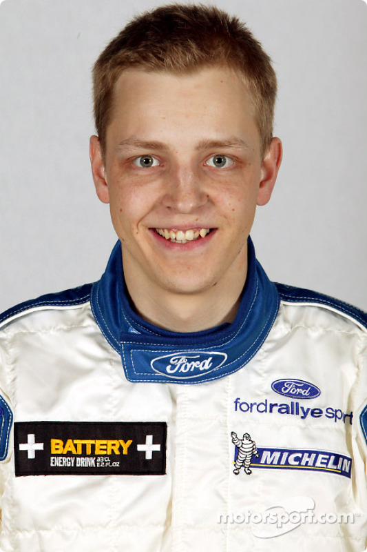 Mikko Hirvonen At Rally Monte Carlo