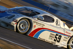 #59 Brumos Racing Porsche Fabcar: Hurley Haywood, J.C. France, Scott Goodyear, Scott Sharp