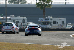 #81 G&W Motorsports Porsche GT3 Cup: Brent Martini, Cort Wagner and #28 De Sigi Auto Sport Honda Civic Si: Kuno Wittmer, Stefan Trahan