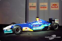 yeni Sauber Petronas C22