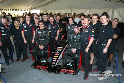 Lanzamiento del Minardi PS03, Melbourne. Australia