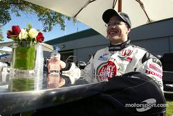 Jacques Villeneuve relaxes