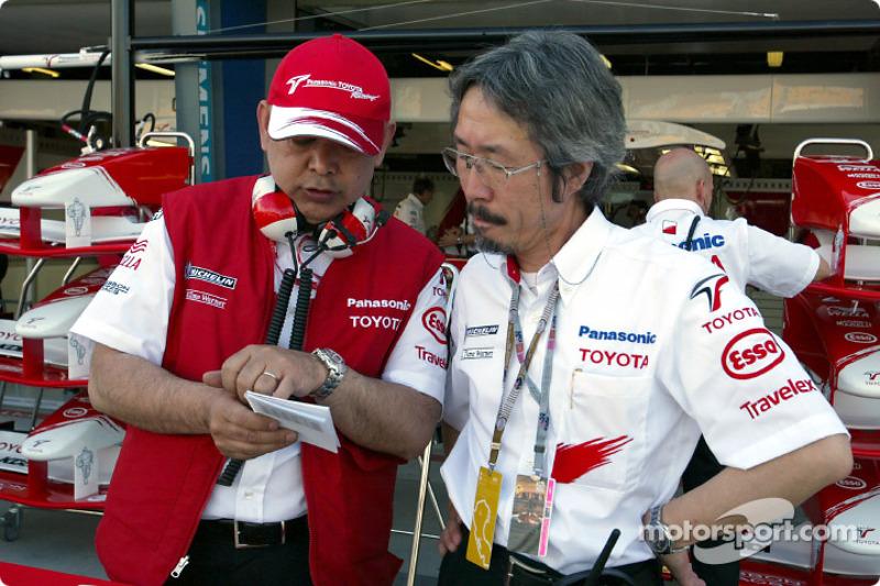 Toshiro Kurusu and Makoto Matsui