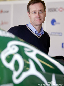 Tony Parnell of Jaguar Racing