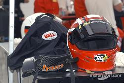 Anthony Lazzaro's helmet