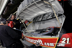 The Motorcraft team adds fuel