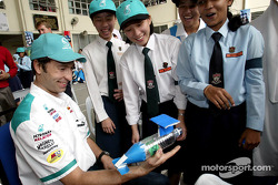 Visit of the Proton Edar Showroom in Jalan Ampang: Heinz-Harald Frentzen
