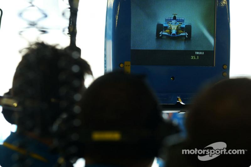 Jarno Trulli on TV