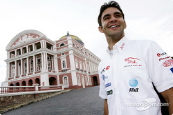 Antonio Pizzonia visits the famous Opera House in Manaus