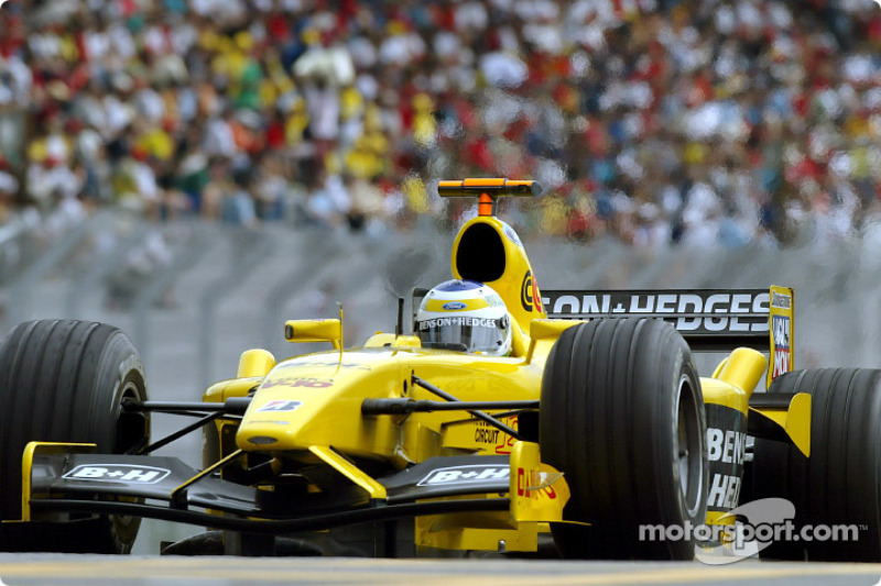 2003: Giancarlo Fisichella, Jordan-Ford EJ13