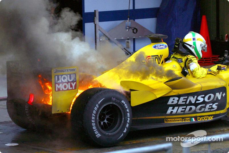 2003. Інтерлагос. Переможець: Джанкарло Фізікелла, Jordan EJ13 Ford Cosworth