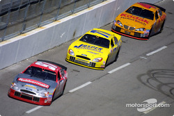 Kurt Busch, Dave Blaney and Mike Skinner