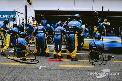 Pitstop with Renault F1 team