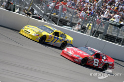 Dave Blaney and Dale Earnhardt Jr.