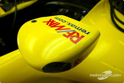 Detail of the Jordan EJ13