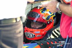 Jeff Gordon in car