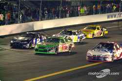 Another group goes 3-wide