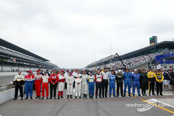 Drivers for the inaugural Freedom 100