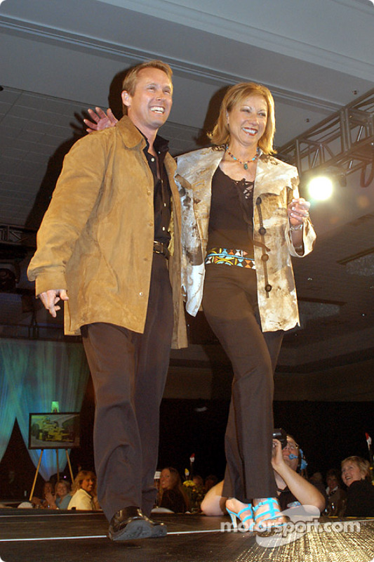 Bart Conner (Olympic medalist in gymnastics) and Jane (Mrs. John) Barnes