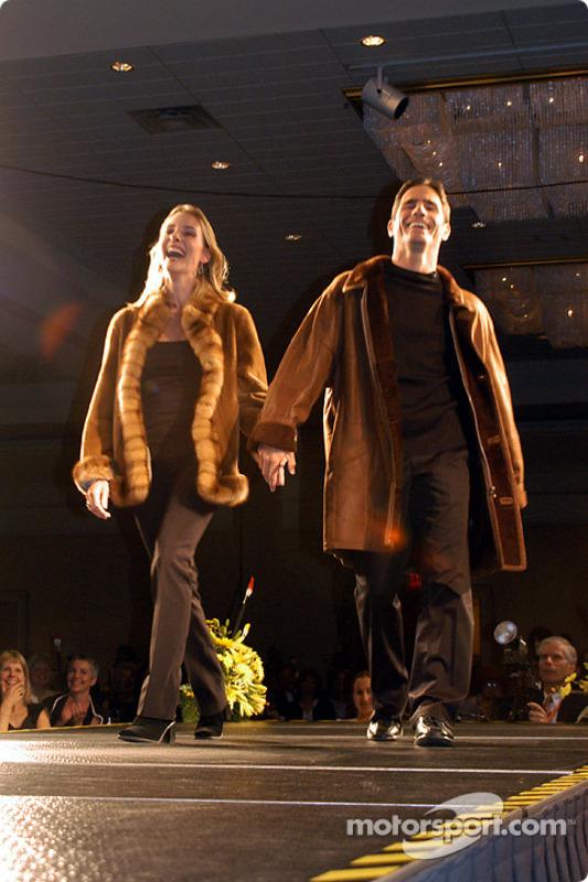 Felipe Giaffone and wife Alice