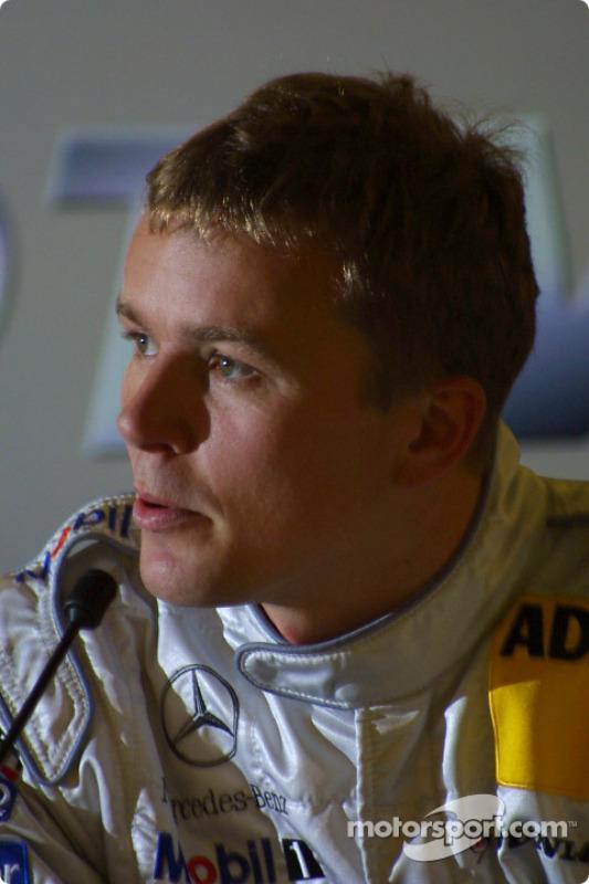 Press conference: pole winner Marcel Fassler