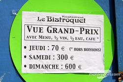 Monaco Grand Prix inflation