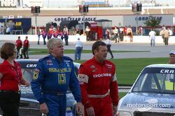 Bobby Hamilton and Robert Pressley