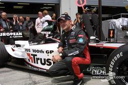 100 Grands Prix for Jos Verstappen