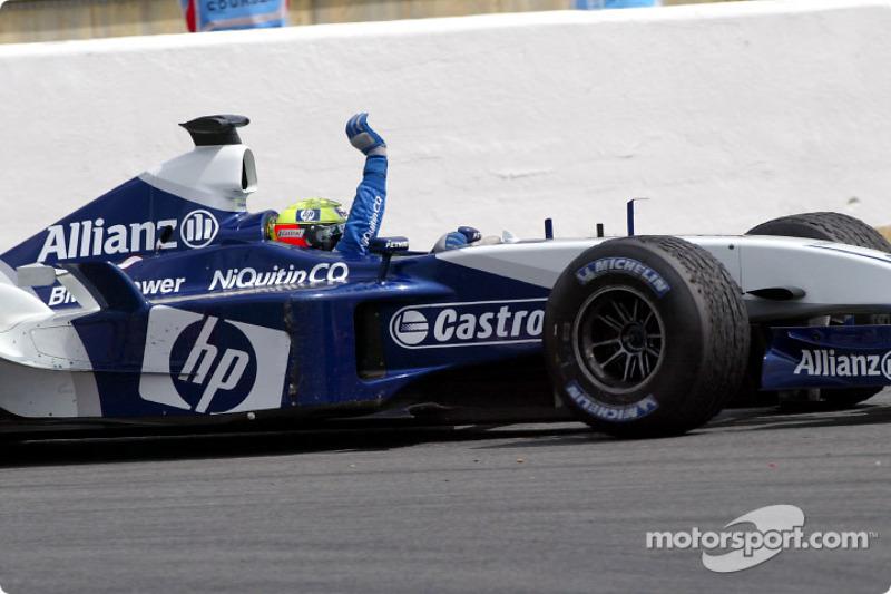 2003 – остання перемога Ральфа Шумахера