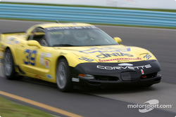#39 Silverstone Racing Services Corvette: Larry Huang, Chris Hall