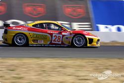 #28 JMB Racing USA / Team Ferrari Ferrari 360 Modena: Stephan Gregoire, Eliseo Salazar