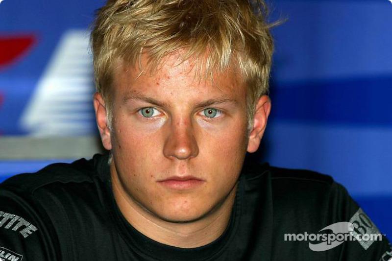 2003 - Kimi Raikkonen, McLaren Mercedes