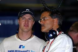 Ralf Schumacher and Mario Theissen