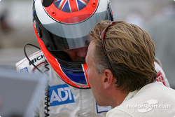 Johnny Herbert and J.J. Lehto