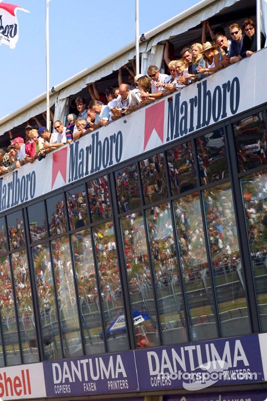 Spectateurs à Zandvoort
