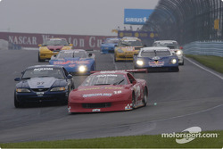 caution into turn one