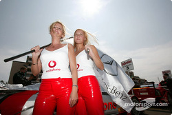 Two lovely grid girls