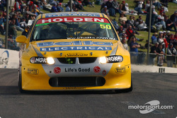 Series leader Jason Bright in the Team Brock Commodore