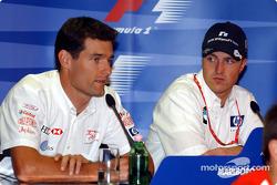 Thursday FIA press conference: Mark Webber and Ralf Schumacher