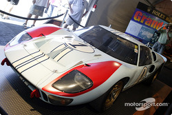 Ford GT-40 on display