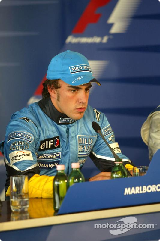 Conferencia de prensa: ganador de la carrera Fernando Alonso