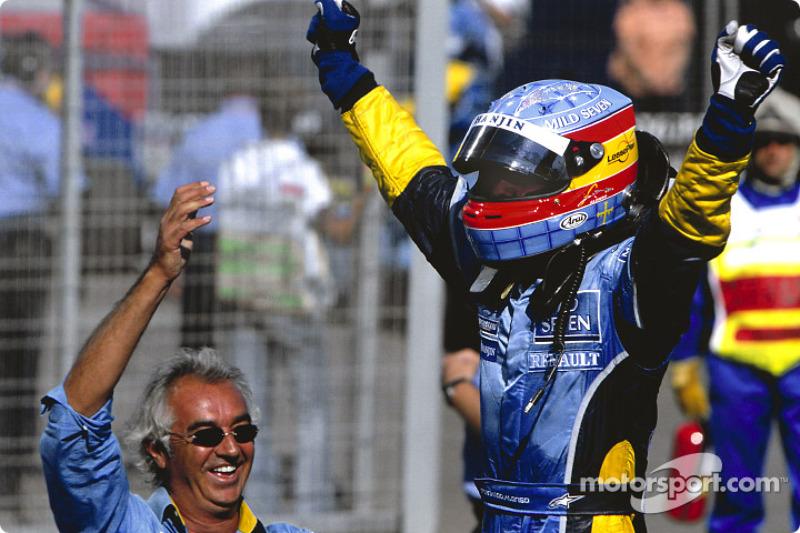 Mayor número de carreras entre una victoria y otra: 22 (entre Hungría 2003 y Malasia 2005)