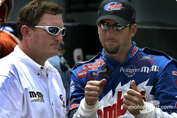 Todd Parrott  and Elliott Sadler