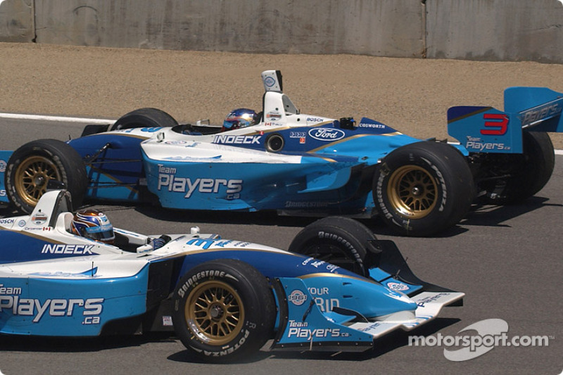 Patrick Carpentier et Paul Tracy