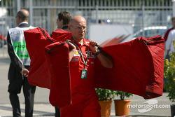 Ferrari team member